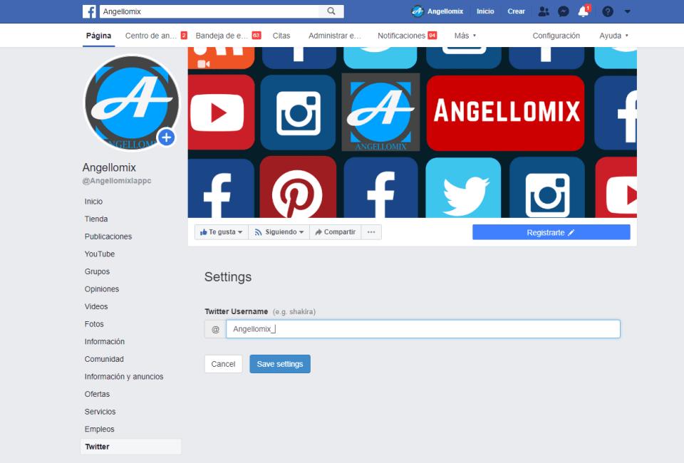 6 twiter en facebook