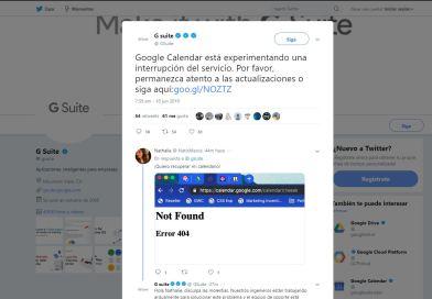 Google calendario esta caido