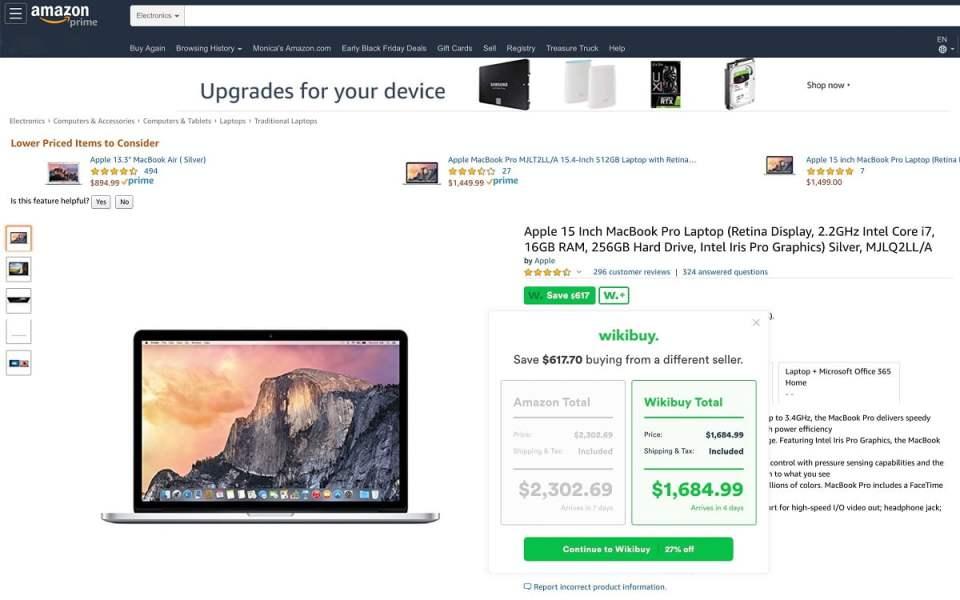 compra con cupones en Amazon productos apple 1
