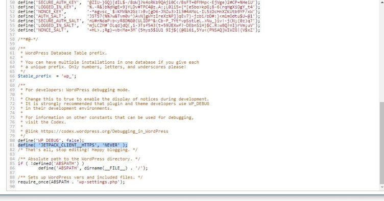 error wordpress 3