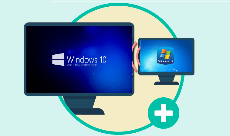 CAMBIAR WINDOWS 7 A WINDOWS 10 SIN FORMATEAR 2020