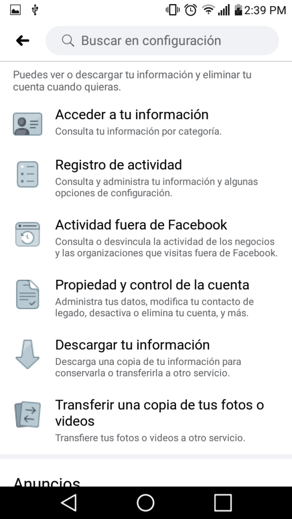 4 transferir fotos y videos de facebook a google fotos facil paso a paso