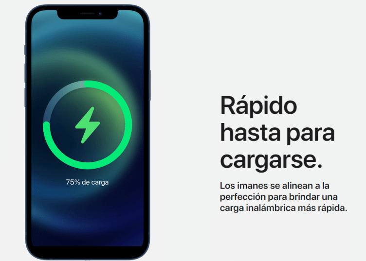 iphone 12 no tiene cargador ni audífonos
