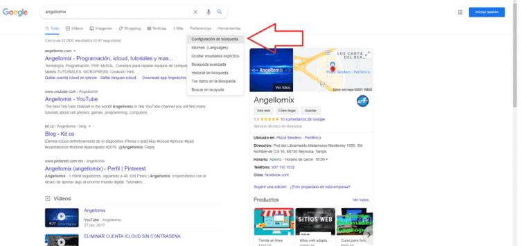 activar tema oscuro en google chrome de escritorio
