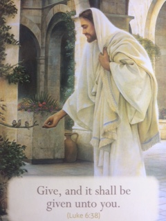Give, and it Shall Be Given Unto You