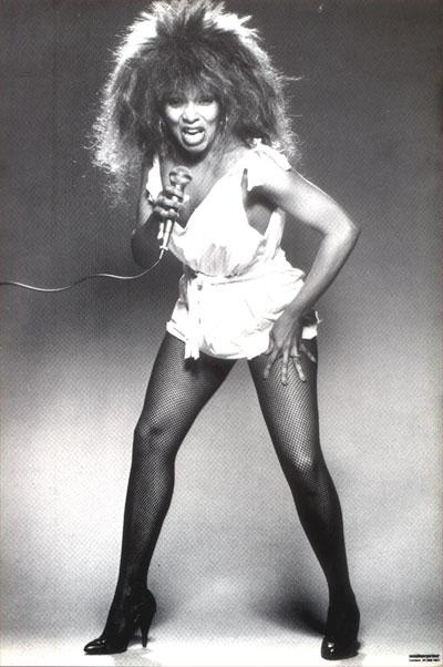 Tina Turner torbellino de fuerza en su voz y energía viva en el escenario. (2/6)