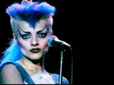 Nina Hagen mi extravagante punk con inusual voz. (2/6)