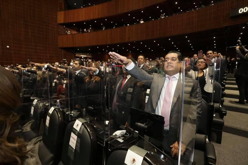 Sergio Gutiérrez, nuevo presidente de la Cámara de Diputados de México