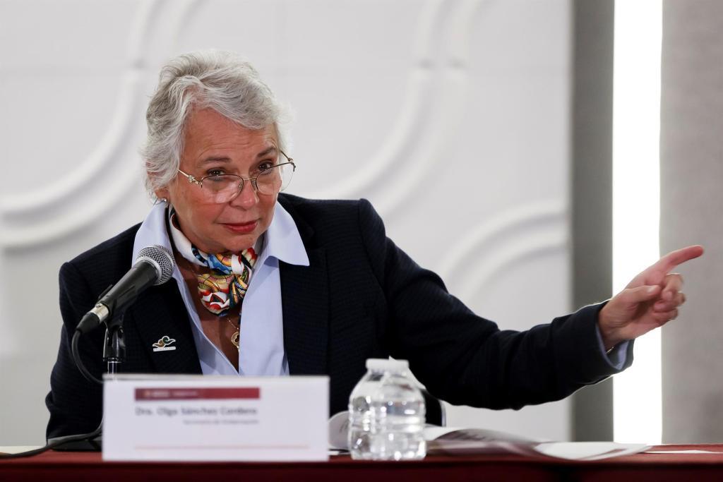 Sánchez Cordero, elegida nueva presidenta del Senado