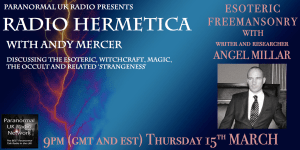 Interviewed on Radio Hermetica