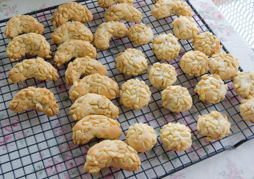 Italian Cookies ~ Pignoli Amaretti (Pine Nut Cookies) (5/5)