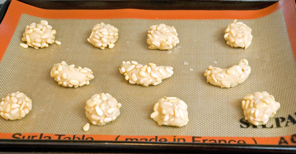 Italian Cookies ~ Pignoli Amaretti (Pine Nut Cookies) (4/5)