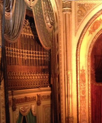 Where the organ pipes were hiding.