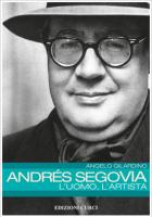 Andrés Segovia – L'uomo, l'artista pubblicato da Curci