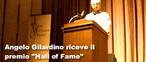 Angelo Gilardino – Hall of Fame 2009 – Video