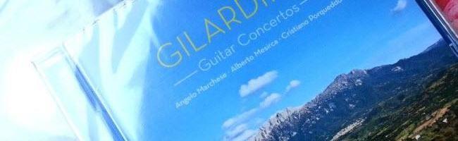 Nuovo CD dedicato alla musica di Angelo Gilardino