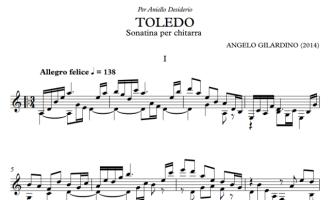 "Sonatina ""Toledo"" per chitarra sola"