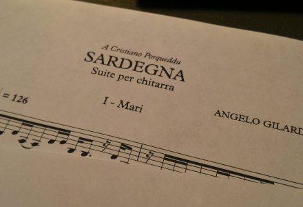 Sardegna, per chitarra sola