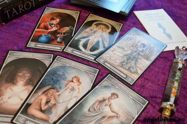 Watcher Angel Tarot Deck Interview
