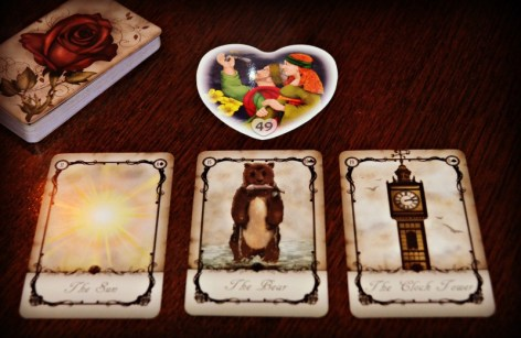 Alphabet for Lovers and Under the Roses Lenormand
