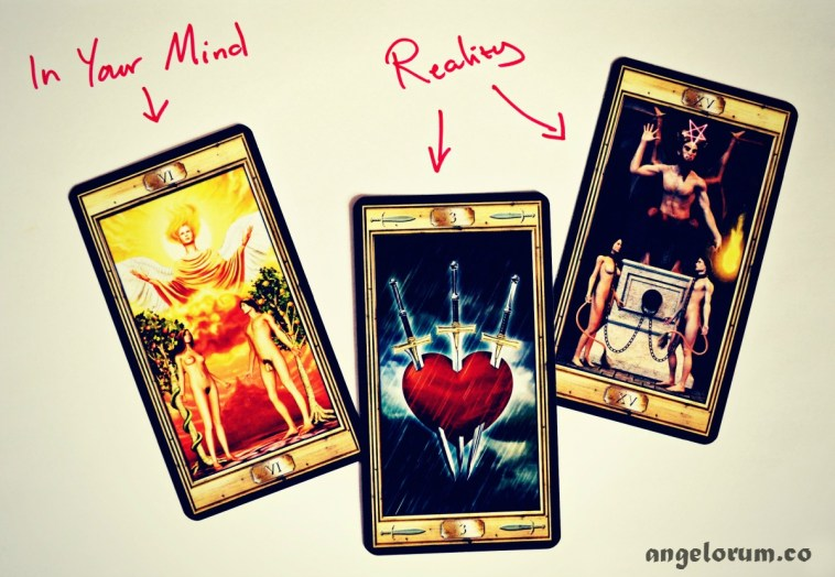 the soul mate excuse abusive relationships in the tarot