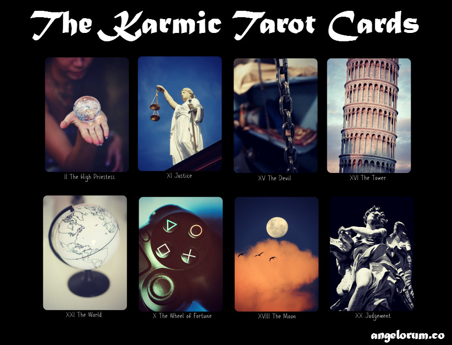 The Karmic Tarot Cards ⋆ Angelorum - Tarot and Healing
