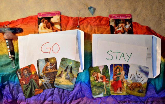 Should I Stay or Should I Go Tarot and Pendulum Reading