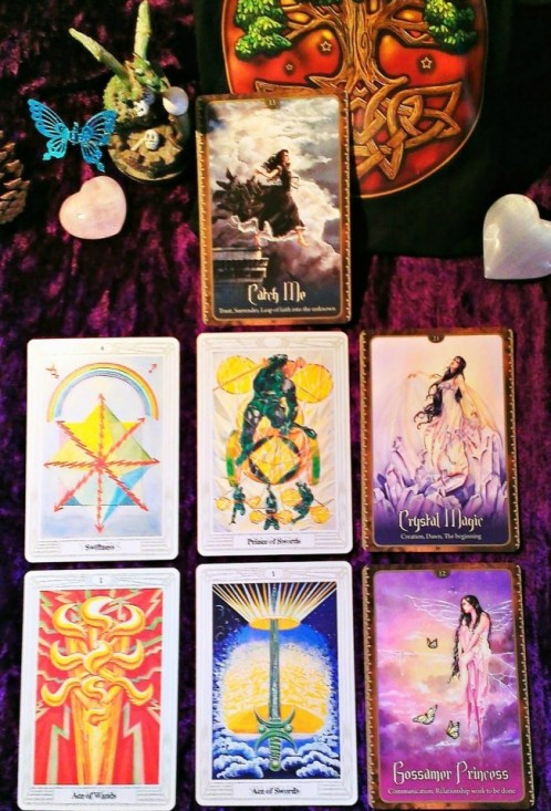 The Hone Your Craft Tarot Spread
