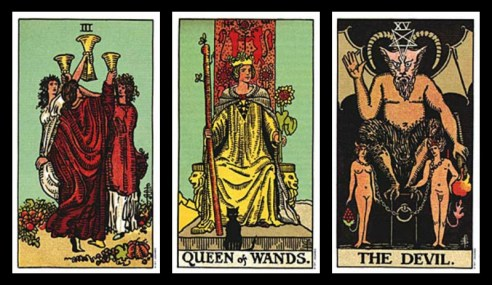 excuses for cheating tarot card combinations 10