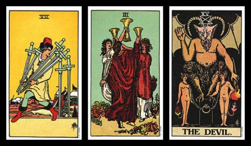 excuses for cheating tarot card combinations 7