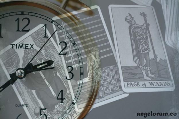 timing in the tarot