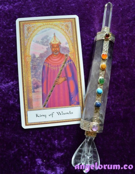 Holistic tarot card meanings for the King of Wands