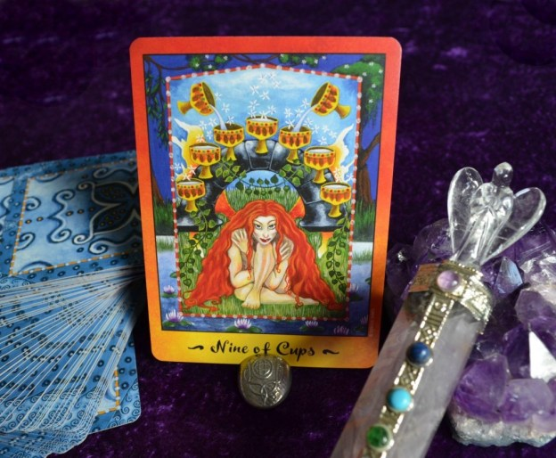 9 of Cups Faerie Tarot