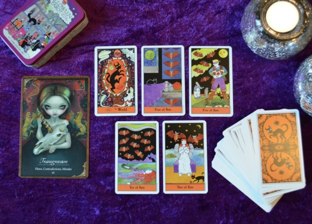 Halloween Tarot and Les Vampires Oracle