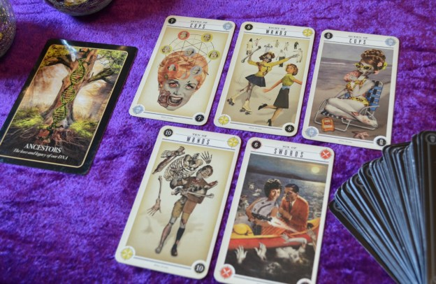 Zombie Tarot and Halloween Oracle