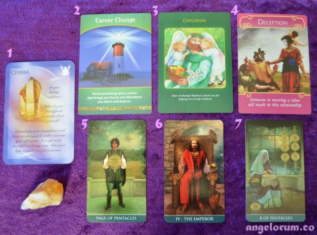 Angelorum Weekly Tarot and Oracle Card forecast for HSP's