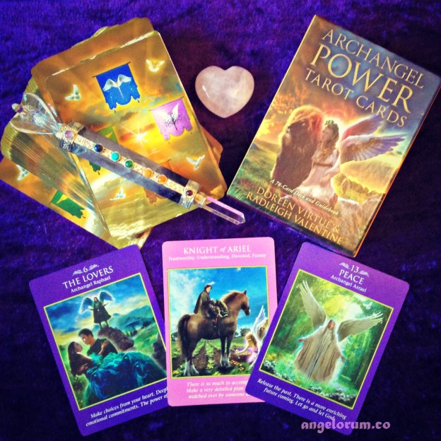 Archangel Power Tarot Deck Interview