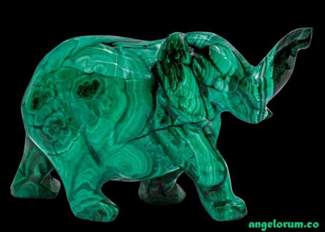 Malachite Elephant