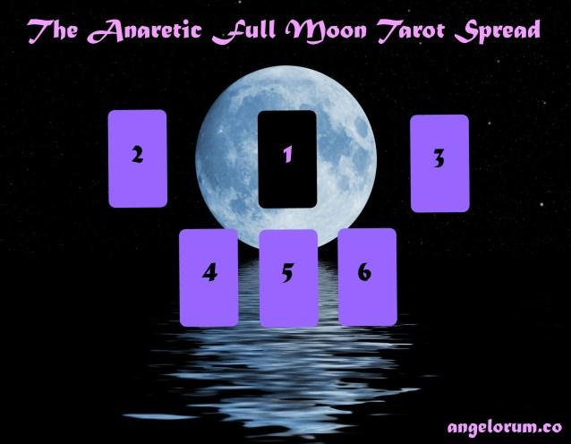 The Anaretic Full Moon Tarot Spread