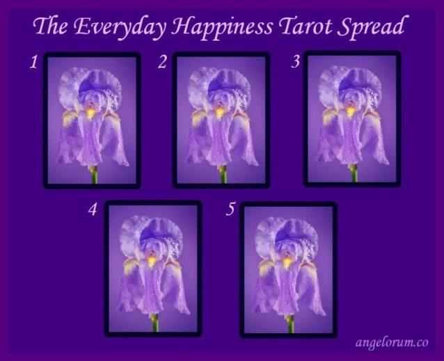 The Everyday Happiness Tarot Spread