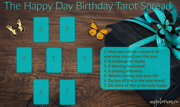 The Happy Day Birthday Tarot Spread