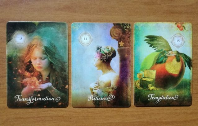 The Good Tarot Transformation Patience and Temptation