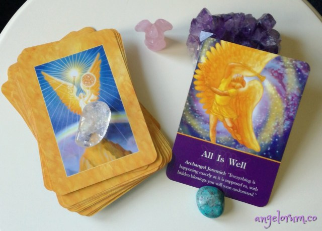 how to do psychic angel card readings