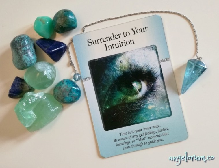 Power of Surrender Cards - Intuition 22 June