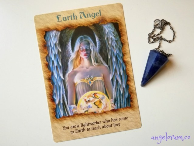 Earth Angel from the Angel Therapy Oracle