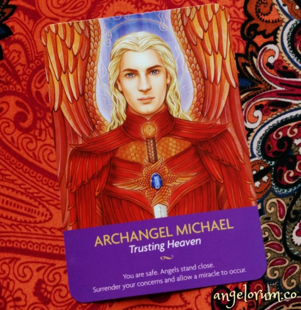 Archangel Michael Keepers of the Light Oracle