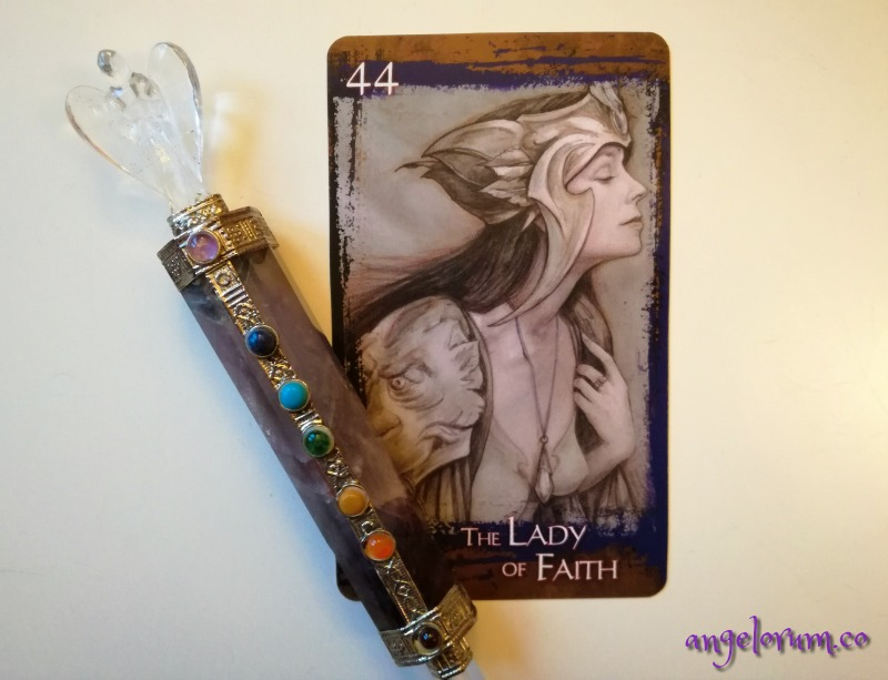 Heart of the Faerie Oracle Lady of Faith Brian Froud