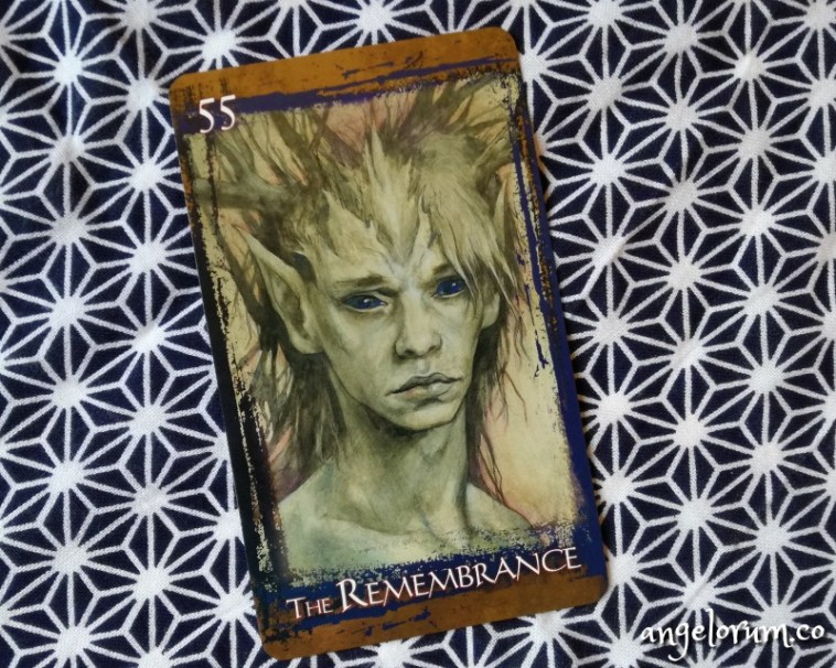 The Rememberance from Brian Froud's Heart of the Faerie Oracle