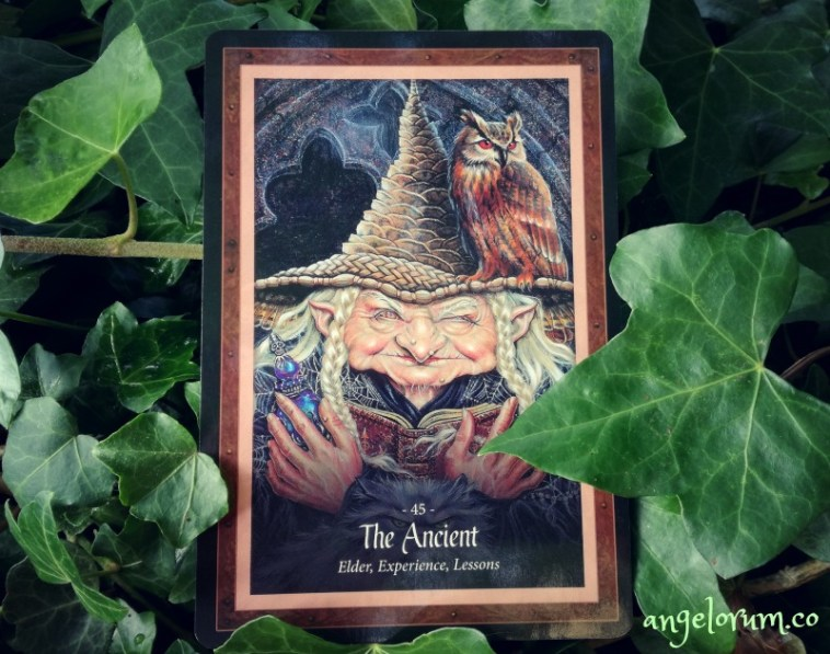The Ancient from the Faery Forest Oracle by Lucy Cavendish