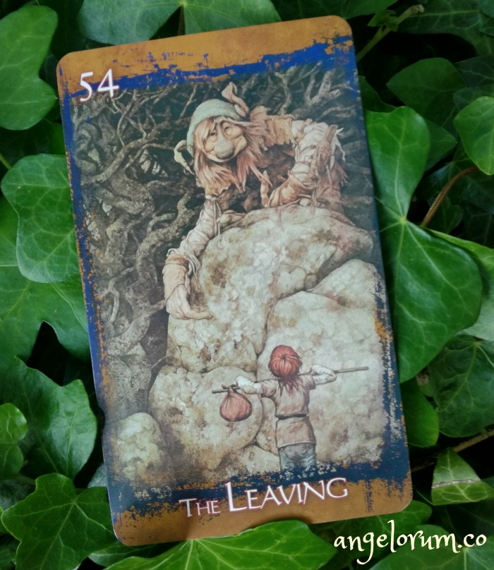 the leaving brian froud's heart of the faerie oracle